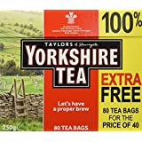 Yorkshire Black Tea 80 Teabags