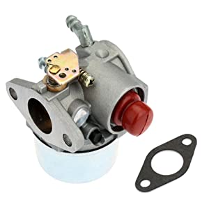 New Carburetor for Tecumseh 640017B 640117 640117B 640104 Fits OHH45 OHH50 5hp OHV with Gasket
