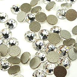 144 pcs Crystal (001) clear Swarovski NEW 2088 Xirius 12ss Flat backs Rhinestones 3mm ss12