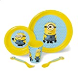 Amazon Price History for:Despicable Me Minion Made 5 Piece Dinnerware Set