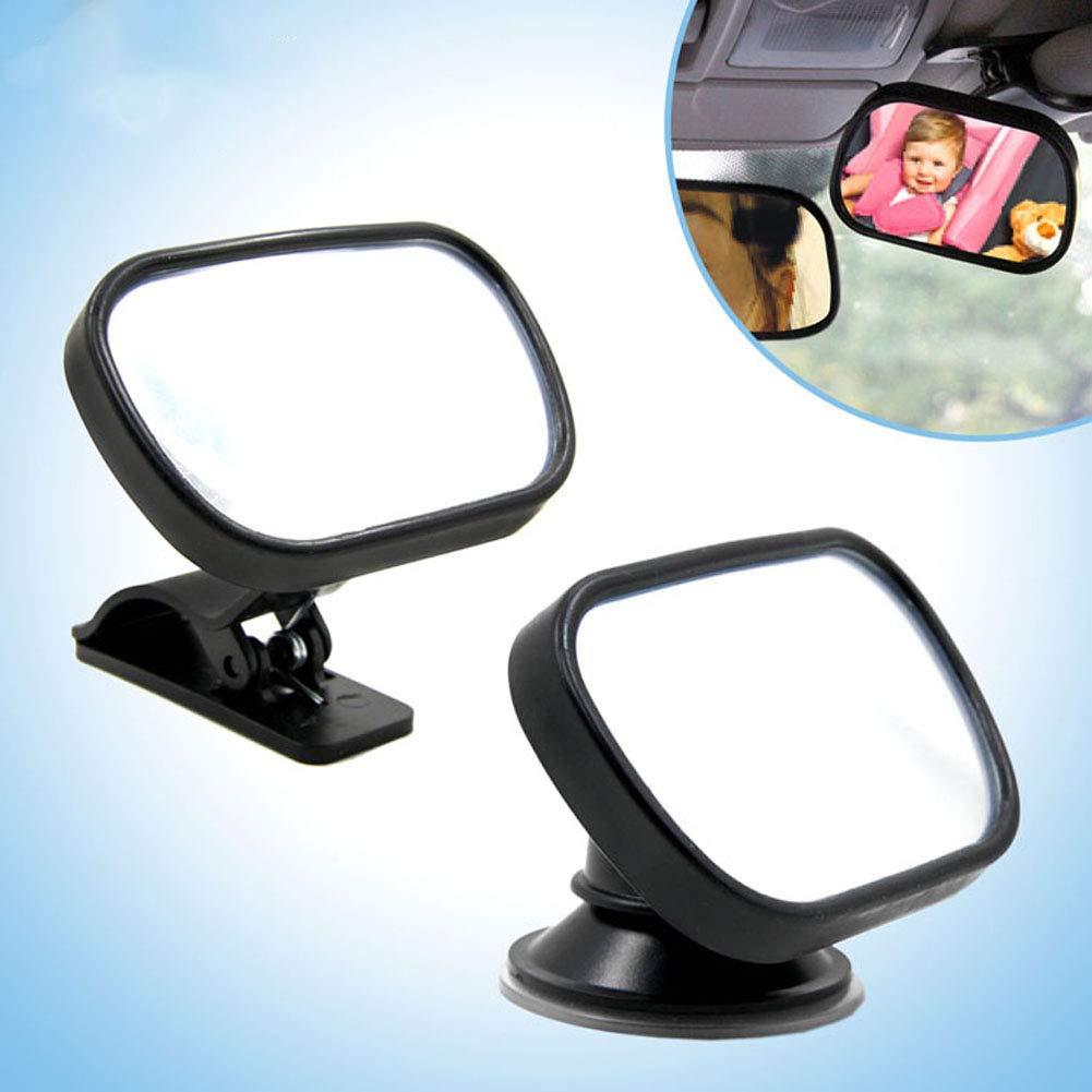 TIROL® Car Baby View Mirror Car Rear Baby Safety Convex Mirror for Car Adjustable Baby Safety Mirror