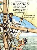 Treasure Island Coloring Book, Robert Louis Stevenson, 0486295664