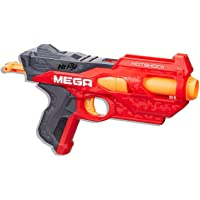 Lança Dardo Nerf Nstrike Mega Hotshock Nerf Vermelho/cinza/laranja