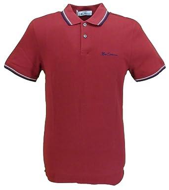 Ben Sherman Signature Polo, Rojo (Red 550), XXXX-Large para Hombre ...