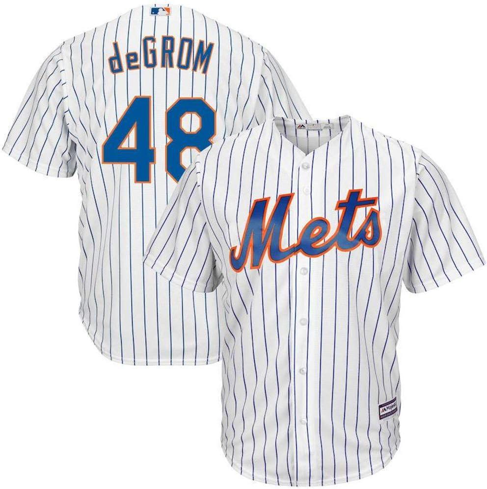 Joueur Baseball Jersey Sweat-Shirt de Baseball en Jersey New York Mets NO.48 GROM