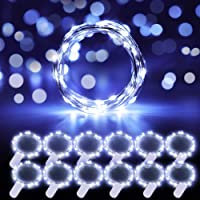 Govee Fairy Lights, 12 Pack LED Fairy String Lights Battery Operated String Lights Waterproof, 3.3ft 20 LEDs Flexible…