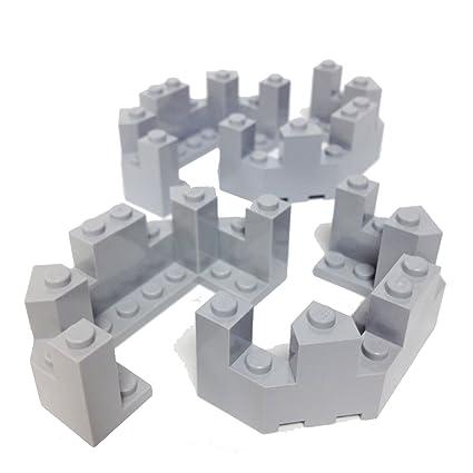 lego parts knights kingdom castle roof turret top 4 x 8 x 2 1