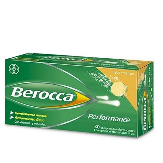 BAYER Berocca performance mango 30 comp eferv: Amazon.es: Salud y cuidado personal