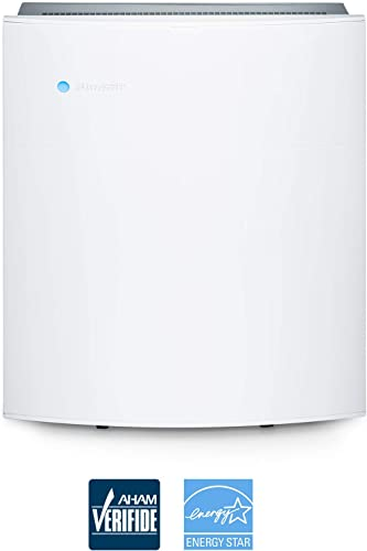Blueair Classic 205 Air Purifier for home with HEPASilent Filtration for Allergies, Pets. Dust, Asthma, Odors and Smoke, WiFi Enabled, ALEXA compatible- Small to Medium rooms
