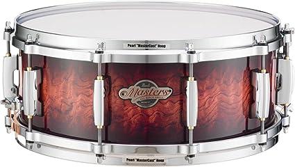 Amazon.com  Pearl Masters BCX Birch Snare Drum 14 x 6.5 in. Lava ... 32292bbe8e