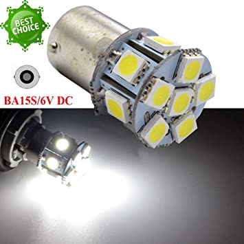 Ruiandsion 5050 - Bombilla LED de repuesto para luz de marcha atrás (2 unidades,