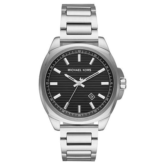 Michael Kors Reloj Analógico para Hombre de Cuarzo con Correa en Acero Inoxidable MK8633: Amazon.es: Relojes