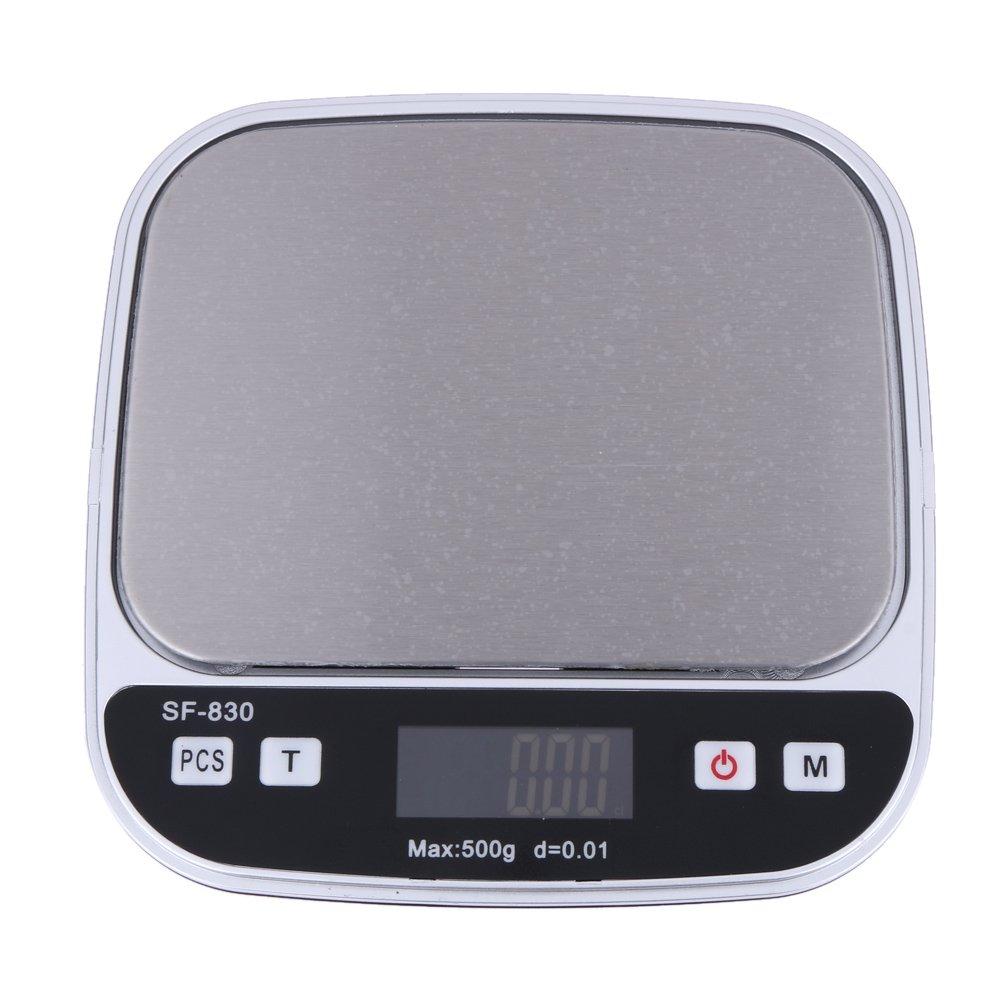 500gx0.01Gram Precision Electronic Digital Pocket Jewelry Kitchen Weight Scale