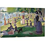 """iCanvasART Sunday Afternoon on the Island of La Grande Jatte Canvas Print, 12"""" x 0.75"""" x 18"""""""