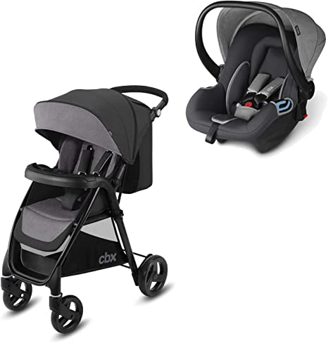 Rain Cover Shima Infant Car Seat Comfy Grey from Birth cbx Onida 2-in-1 Travel System Incl Onida Pushchair