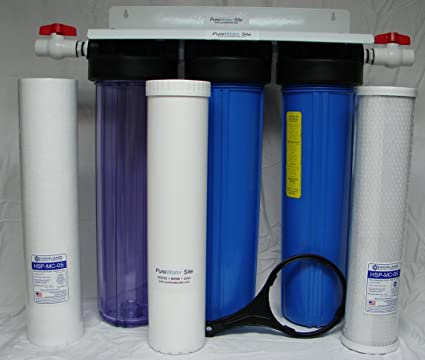 Amazon com: Whole House Well Water Filtration System for