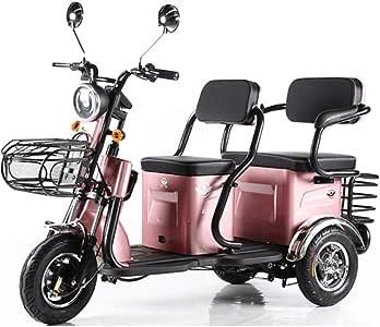 Triciclo Eléctrico Adulto Anciano Scooter De Ocio Anciano Recogida ...