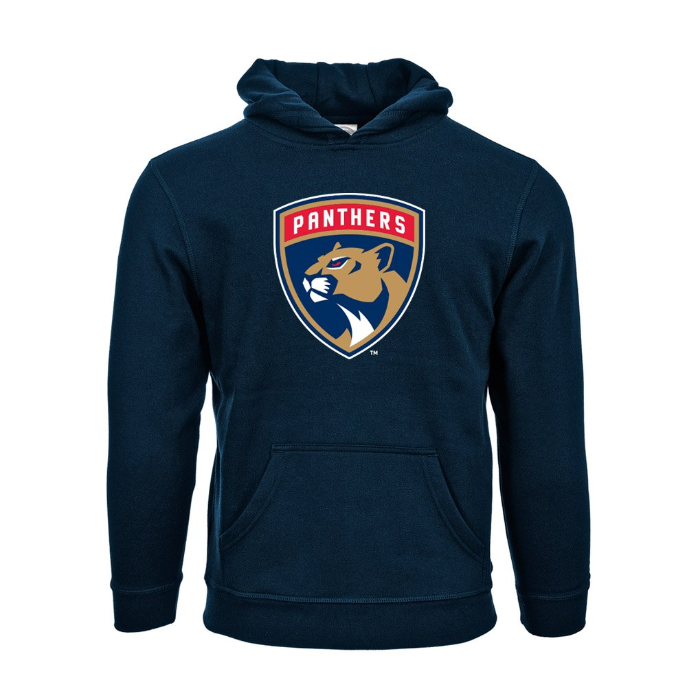 b7125661e8d4 Amazon.com   NHL Florida Panthers Suede Crest Eli Youth Pullover Hoodie,  YXL, Navy   Sports   Outdoors