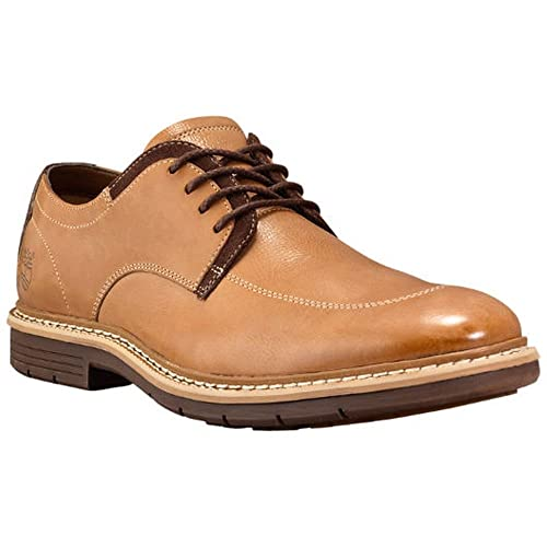 Timberland CA13LM Men s Naples Trail Leather Oxford Shoes. Color  Copper  Waxed Full-Grain b1e0bc3f128