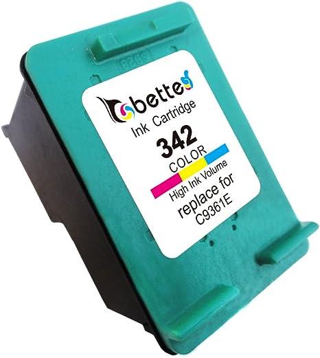 Bette cartucho de tinta recargable para HP 336 342 C9361e C9362E ...