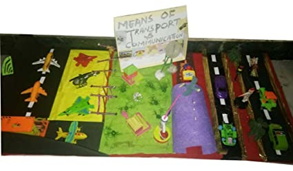 Buy Zoe craft transport and communication handmade kids project for