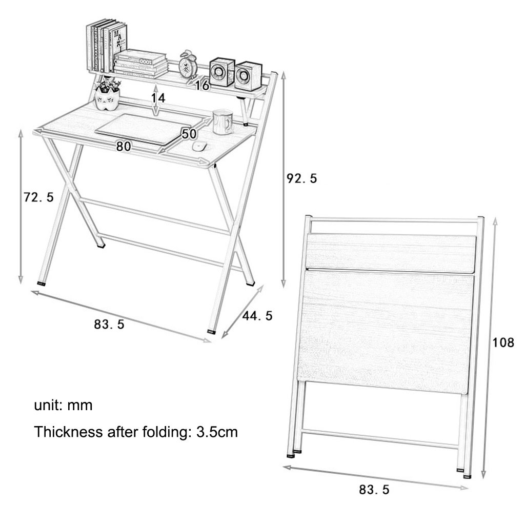 Amazon.com: Folding Computer Tables 33
