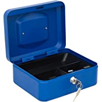 Arregui C9225 Caja de Caudales con Bandeja, Azul