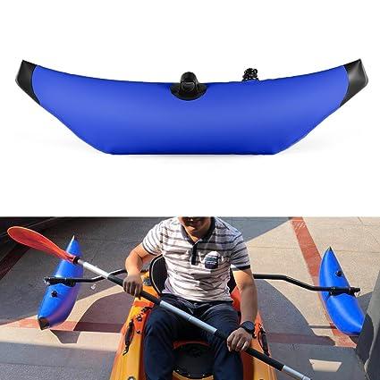 Lixada Kayak estabilizador PVC Inflable Outrigger Kayak Canoa ...