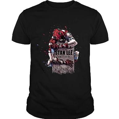 6b470446 Amazon.com: Rip Stan Lee Shirt 1922-2018, Stan Lee Marvel Comics Shirt, Stan  Lee Spider-Man Films Shirt: Clothing