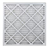 filterbuy afb silver 20x20x1 merv 8 pleated ac furnace air filter pack of 4 20x20x1
