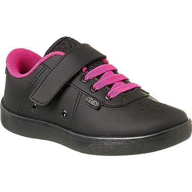 79d0808f9 Tênis Infantil Klin College Velcro Cor  Preto Pink - Tam.  28 ...