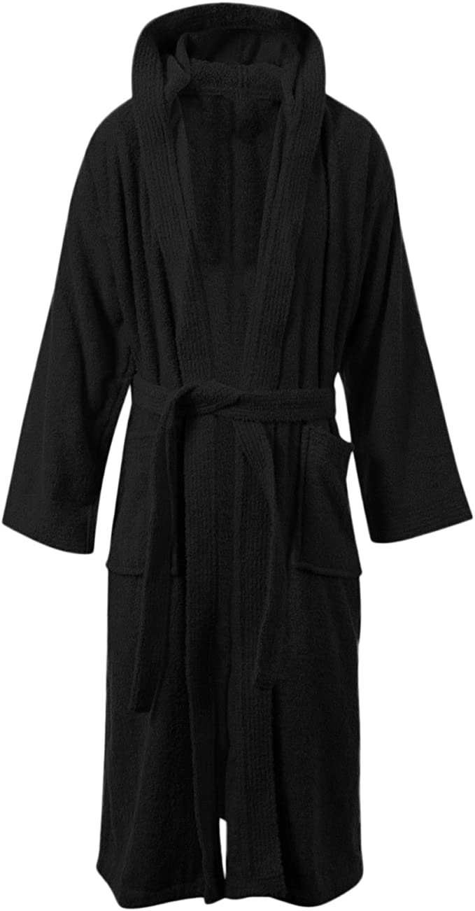 100/% LUXURY UNISEX EGYPTIAN COTTON TERRY TOWELLING BATH ROBE DRESSING GOWN TOWEL