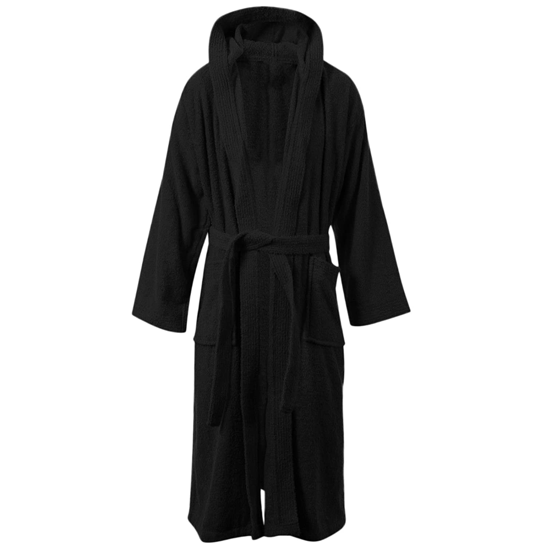 MyShoeStore Womens Mens 100% Luxury Egyptian Cotton Super Soft Terry  Towelling Bath Robe Unisex Ladies Dressing Gowns Towel Bathrobe Nightwear  Housecoat ONE ... 5432effdf
