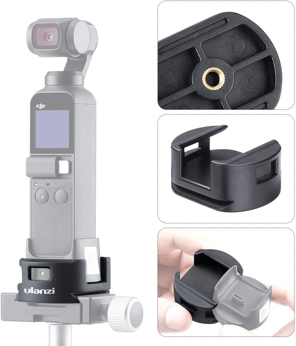 Stabilizer Gimbal Holder for Cell Phone Base Mount Platform with 1//4 Inch Screw for DJI OSMO Mobile 3