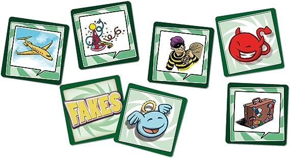 Cayro - Fakes - Juego de adivinanzas - Juego de Mesa - Desarrollo de Habilidades cognitivas - Juego de Mesa (7005): Amazon.es: Juguetes y juegos