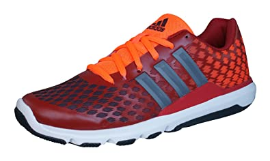 adidas Adipure Primo Mens Running Sneakers / Shoes - Red