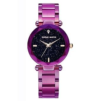 Reloj de Pulsera para Mujer de Cuarzo japonés, de Acero ...