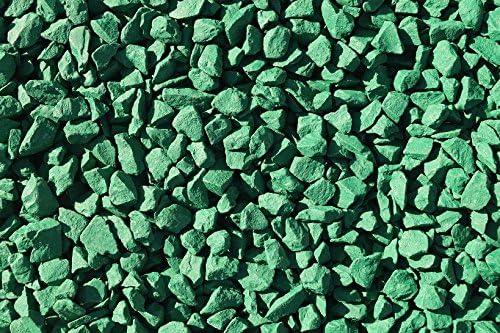 Piedra decorativa para jardín RockinColour, Irish Emerald Green: Amazon.es: Jardín