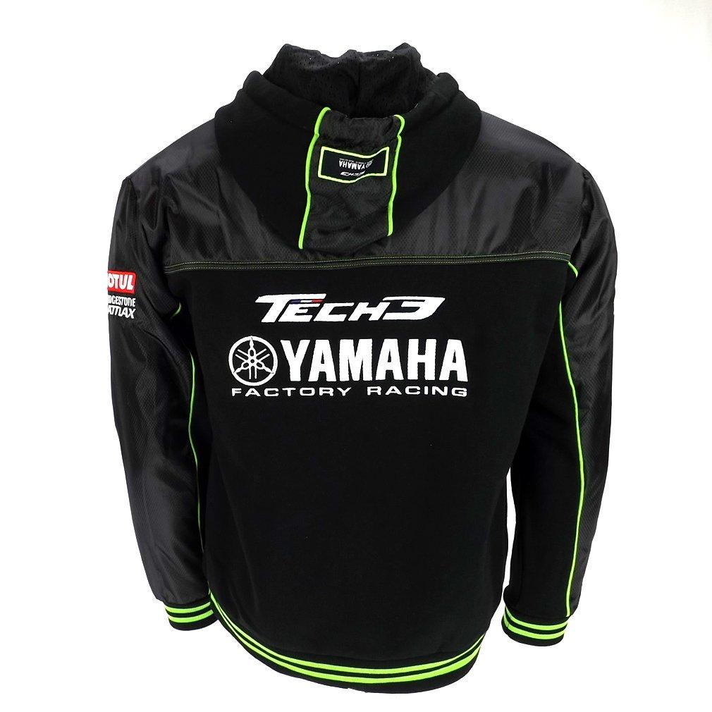 sudadera oficial del equipo Tech 3 Monster Energy Yamaha Moto GP: Amazon.es: Deportes y aire libre