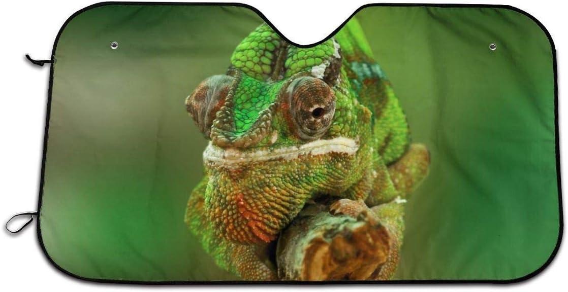 UV-Sonnenschutz und Hitze-Reflektor Chameleon Windschutzscheiben-Sonnenschutz f/ür Reptilien