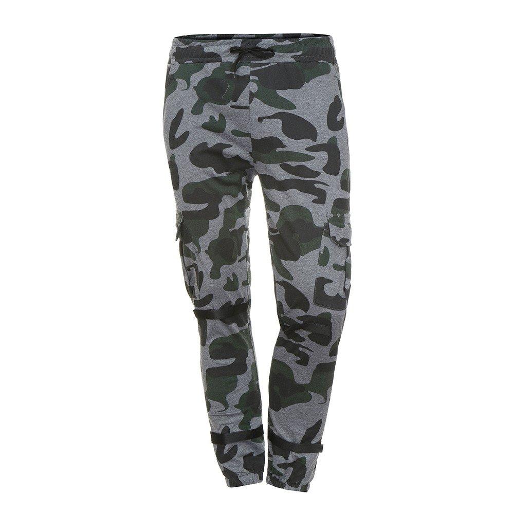 Pantalones Casuales Hombre Deportivos Pantalones Bolsillos elásticos Pantalones cordón de Apretados Jogger tamaño M-3XL Pantalón: Amazon.es: Ropa y ...
