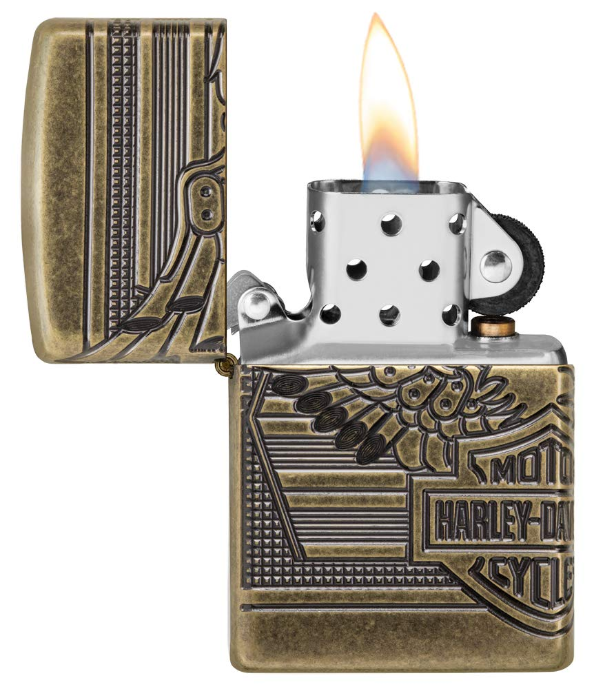 Zippo Harley-Davidson 2019 Collectible Pocket Lighter by Zippo (Image #3)