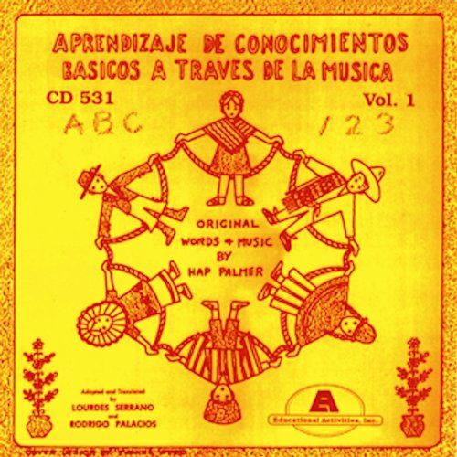Basic Skills Thru Music - Learning Basic Skills Through Music Vol. 1 Spanish