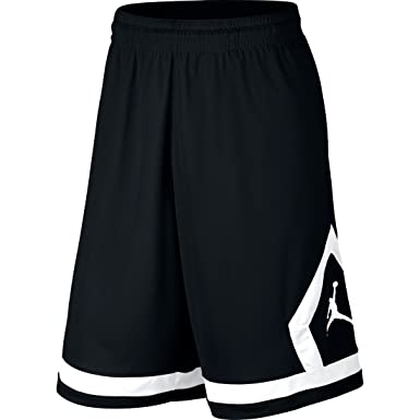 ba4a81f99bef1d Nike Mens Jordan Flight Diamond Basketball Shorts Black White 576978-010  Size X-Large  Amazon.ca  Clothing   Accessories