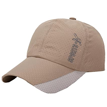 Amazon.com  KFSO Women Men Baseball Cap Breathable Sports Hats ... babac2b20bf1
