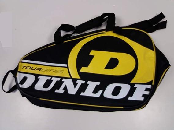 Paletero de pádel Dunlop Tour Intro Negro / Amarillo: Amazon.es: Deportes y aire libre