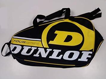 Paletero de pádel Dunlop Tour Intro Negro / Amarillo: Amazon.es ...