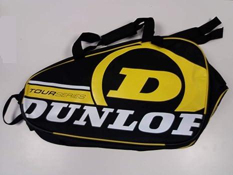 Paletero de pádel Dunlop Tour Intro Negro / Amarillo