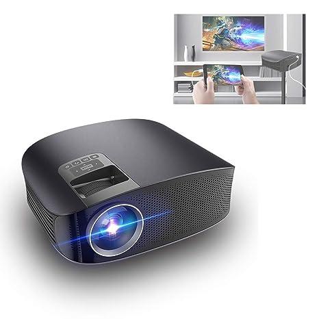 GJZhuan Proyector YG600 HD, proyector de Video LED de 4000 lúmenes ...