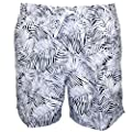 Calvin Klein Jungle Print Men's Swim Shorts, White